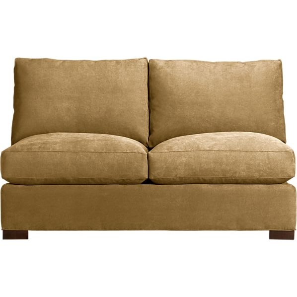 Armless Sectional Sofa Roselawnlutheran clearly pertaining to Armless Sectional Sofas (Image 1 of 20)