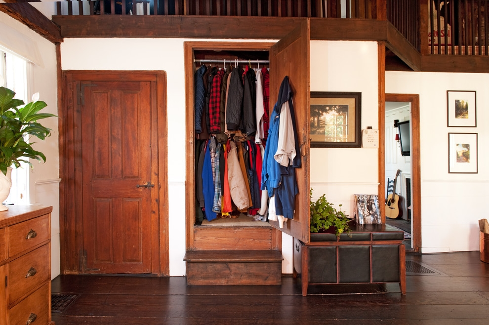 Armoire Inspiring Coat Armoire For Home Wardrobe Closet Home Effectively  Inside Dark Wood Wardrobe Closet (