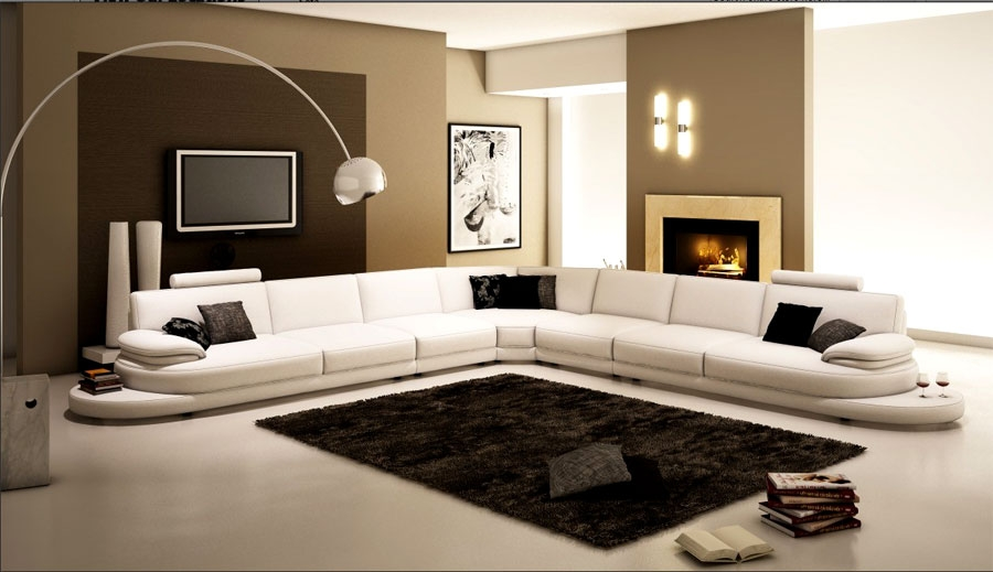Arrange A Living Room With Large Sectional Sofas The Home Redesign most certainly in Extra Large Sectional Sofas (Image 3 of 20)