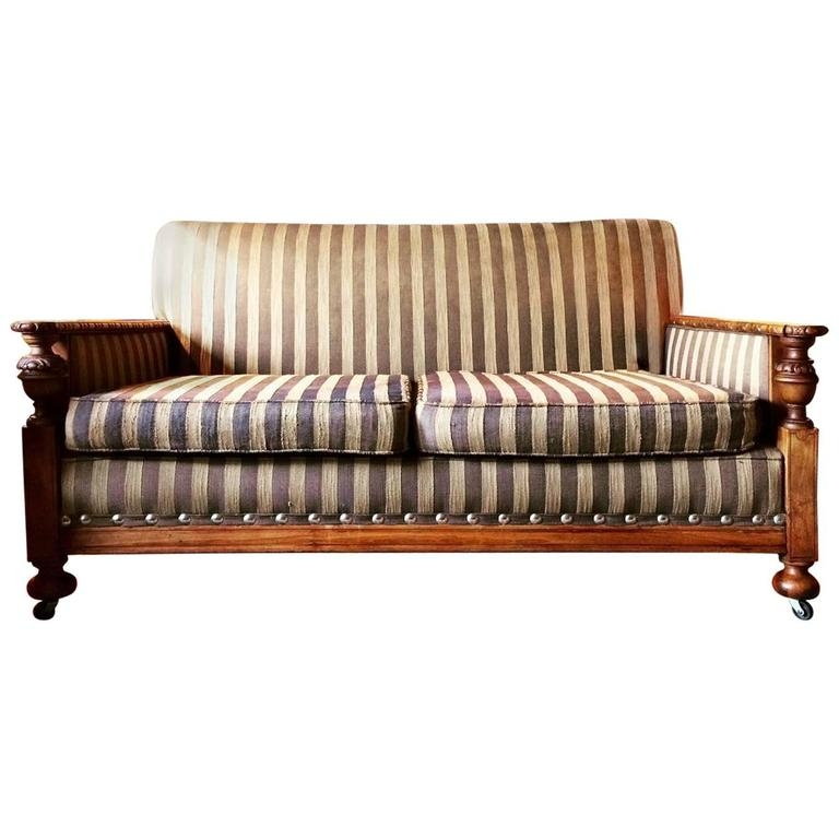 Art Deco Sofa Suite Settee Pair Armchairs Golden Oak Circa 1930s Good For 1930s Couch (View 11 of 20)