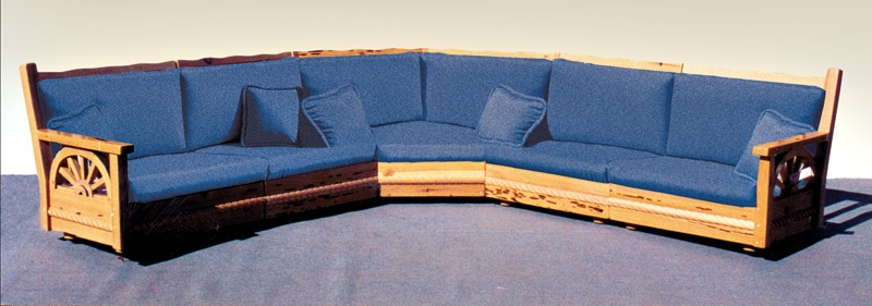 Arts Craftsman Sectional Sofa Western Mission Sofa Sectional Clearly  Intended For Craftsman Sectional Sofa (Image