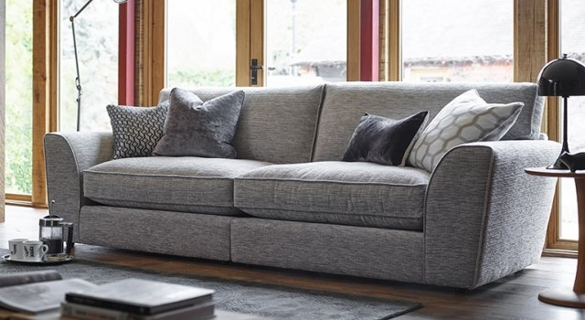 Ashley Manor Sofas Hobbs 4 Seater Sofa 4 Seater Sofas certainly with 4 Seater Sofas (Image 7 of 20)