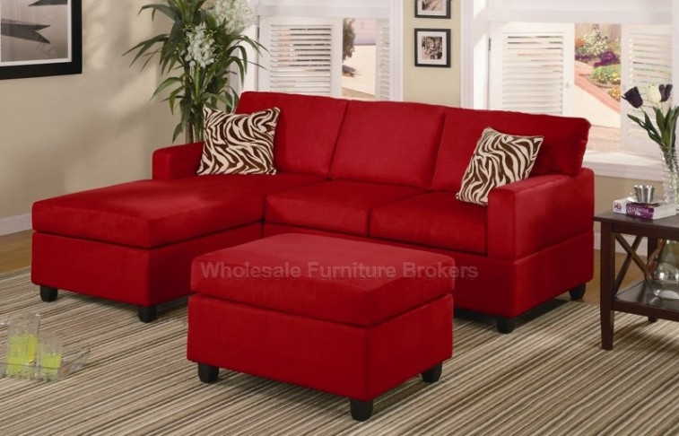 Astonishing Modern Red Sofa Horse Paintings Design Ideas Room Sets definitely with regard to Red Sofas And Chairs (Image 3 of 20)