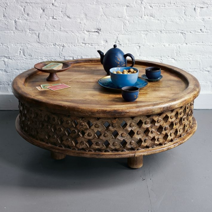 Awesome Round Coffee Tables With Storage Homesfeed definitely inside Round Coffee Tables With Storages (Image 2 of 20)