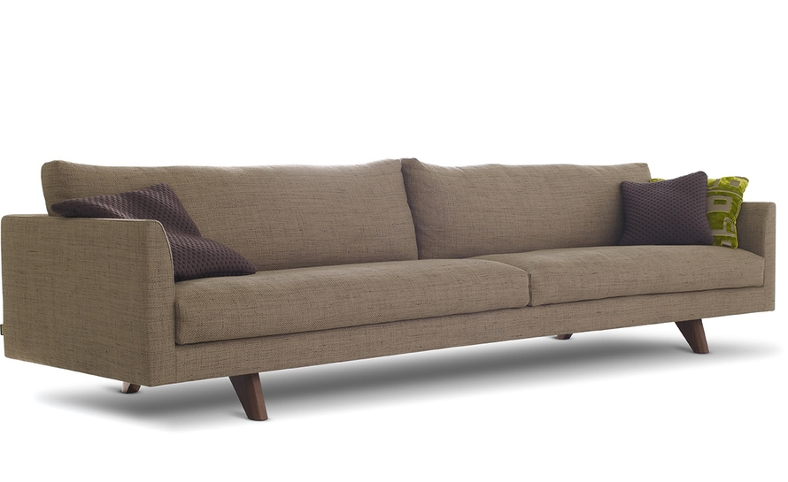 Axel 4 Seat Sofa Hivemodern perfectly with 4 Seater Sofas (Image 9 of 20)