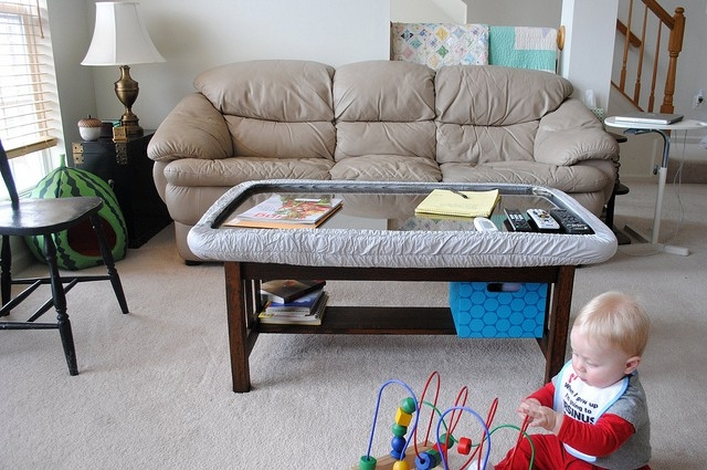 Ba Proof Coffee Table Idi Design Most Certainly Throughout Baby Proof  Coffee Tables Corners (Photo