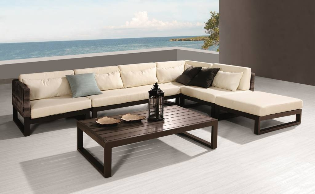 Babmar Modern Outdoor Patio Furniture Babmar well with Outdoor Sofa Chairs (Image 1 of 20)