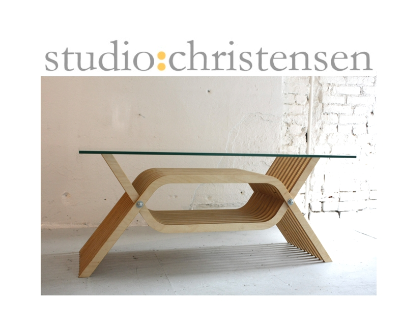 Baltic Birch Coffee Table Studiochristensen nicely inside Birch Coffee Tables (Image 2 of 20)