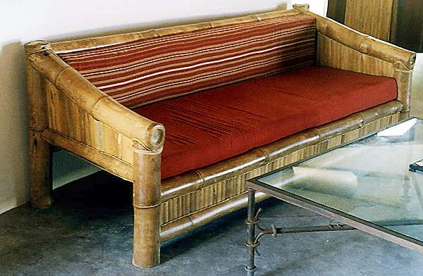 Bamboo Crafts And Furniture Of Belize good intended for Bambo Sofas (Image 2 of 20)