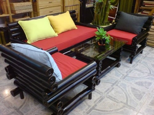 Bamboo Garden Sofa Bamboo Garden Sofa Suppliers And Manufacturers most certainly within Bambo Sofas (Image 4 of 20)