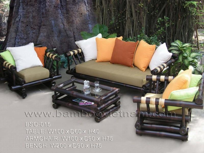 Bamboo Sofa Bambu Decor definitely pertaining to Bambo Sofas (Image 7 of 20)