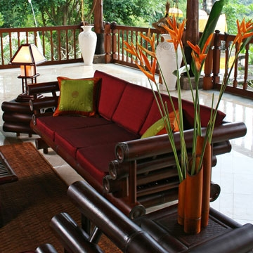 Bamboo Sofas Handcrafted Bamboo Furniture For Living Room effectively with Bambo Sofas (Image 9 of 20)