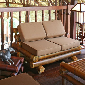 Bamboo Sofas Handcrafted Bamboo Furniture For Living Room very well pertaining to Bambo Sofas (Image 11 of 20)