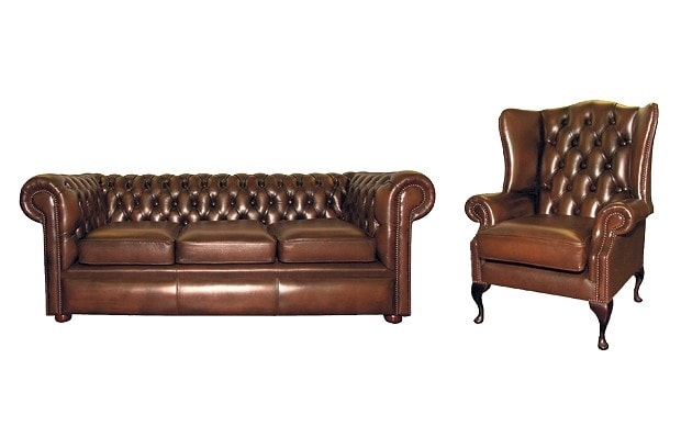 Bargain Hunter Real Leather Furniture Telegraph perfectly with Classic English Sofas (Image 3 of 20)