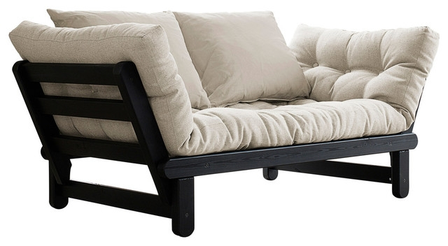 Beat Convertible Futon Sofabed Contemporary Futons Muntech very well within Convertible Sofa Chair Bed (Image 4 of 20)