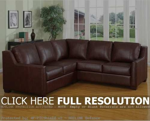 Beautiful Brown Leather Sectional Sofa Diana Dark Brown Leather clearly intended for Diana Dark Brown Leather Sectional Sofa Set (Image 3 of 20)