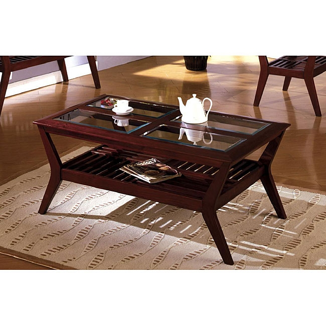 Beautiful Cherry Wood End Tables Living Room Gallery Decorating definitely inside Cherry Wood Coffee Table Sets (Image 2 of 20)