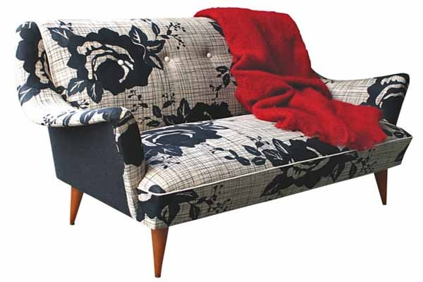 Beautiful Furniture Upholstery Fabric Prints Modern Vintage Furniture most certainly in Upholstery Fabric Sofas (Image 3 of 20)
