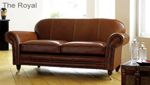 Beautiful Saddle Brown Leather Sofa Aspen All Leather Sofa 1g effectively with regard to Aspen Leather Sofas (Image 12 of 20)