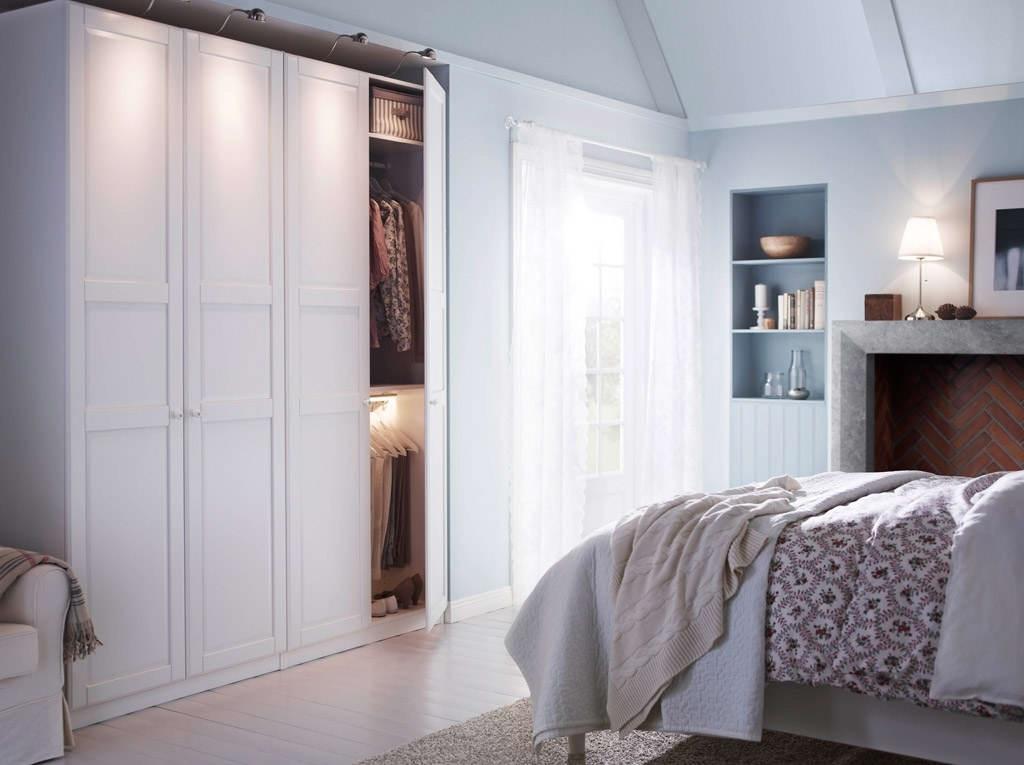 Bedroom Comely Sliding Glass Mirror Door Wardrobe Design Bedroom good with Dark Wood Wardrobes Ikea (Image 27 of 30)