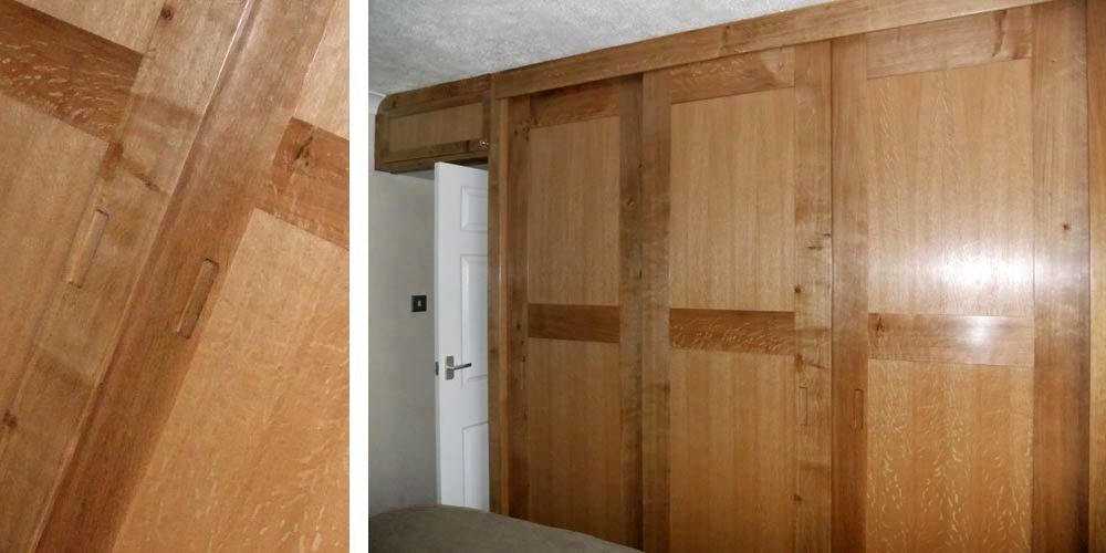 Bedroom Projects certainly pertaining to Solid Wood Fitted Wardrobe Doors (Image 20 of 30)