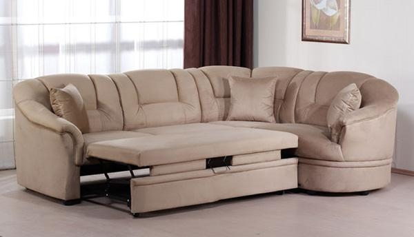 Beige Leather Sectional Sofa S3net Sectional Sofas Sale nicely throughout Sofas With Beds (Image 2 of 20)