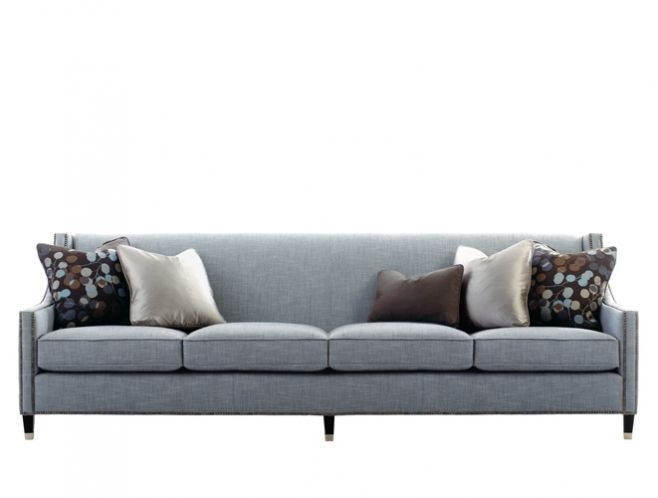 Bernhardt Interiors Palisades 4 Seater Sofa Project Pk Living Perfectly Pertaining To 4 Seater Couch (View 8 of 20)