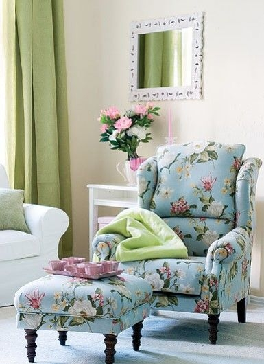Best 10 Floral Chair Ideas On Pinterest Chairs Armchairs And perfectly with regard to Floral Sofas and Chairs (Image 10 of 20)