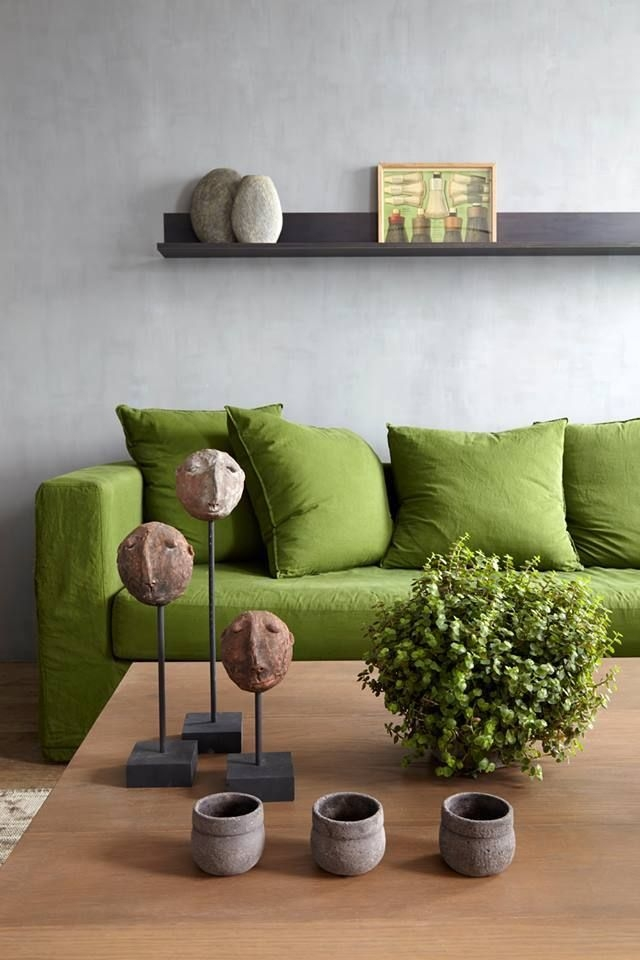 Best 10 Green Couch Decor Ideas On Pinterest Green Sofa Velvet well intended for Green Sofa Chairs (Image 2 of 20)