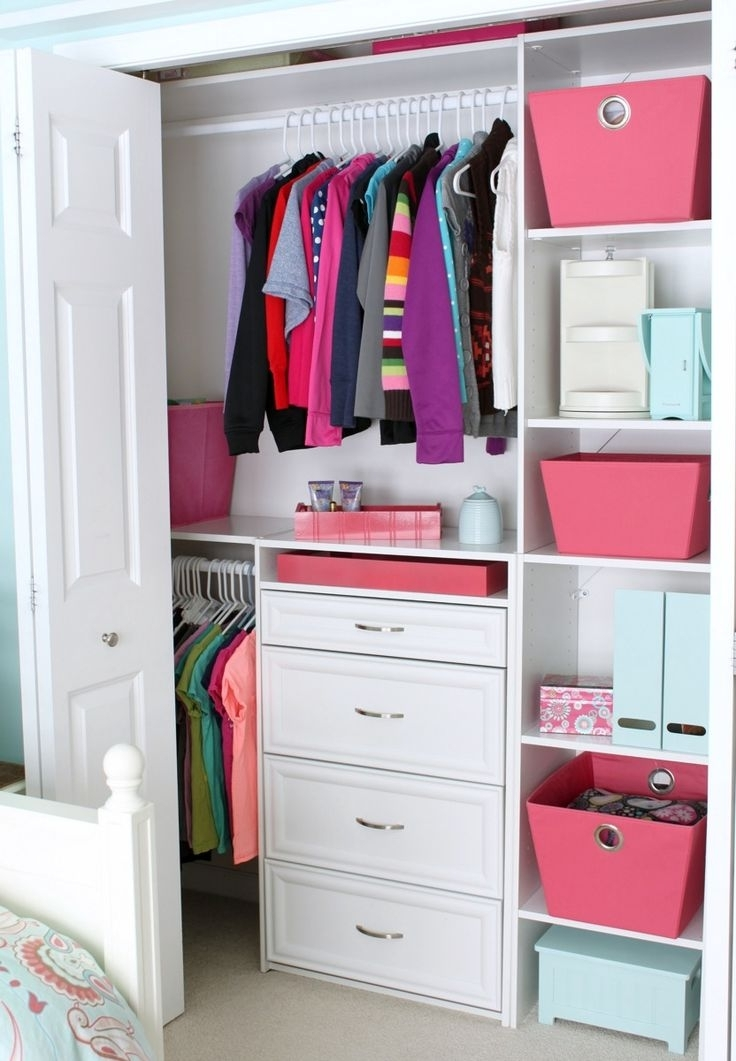 Best 10 Kids Closet Storage Ideas On Pinterest Ba Closet definitely regarding Double Wardrobe With Drawers and Shelves (Image 13 of 30)