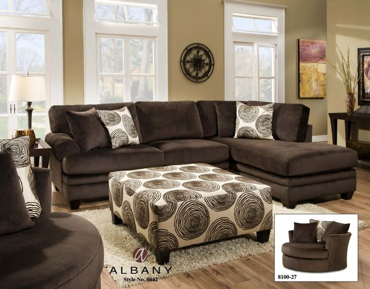 Best 20 Brown Sectional Sofa Ideas On Pinterest Brown Sectional very well inside Chocolate Brown Sectional Sofa (Image 8 of 20)