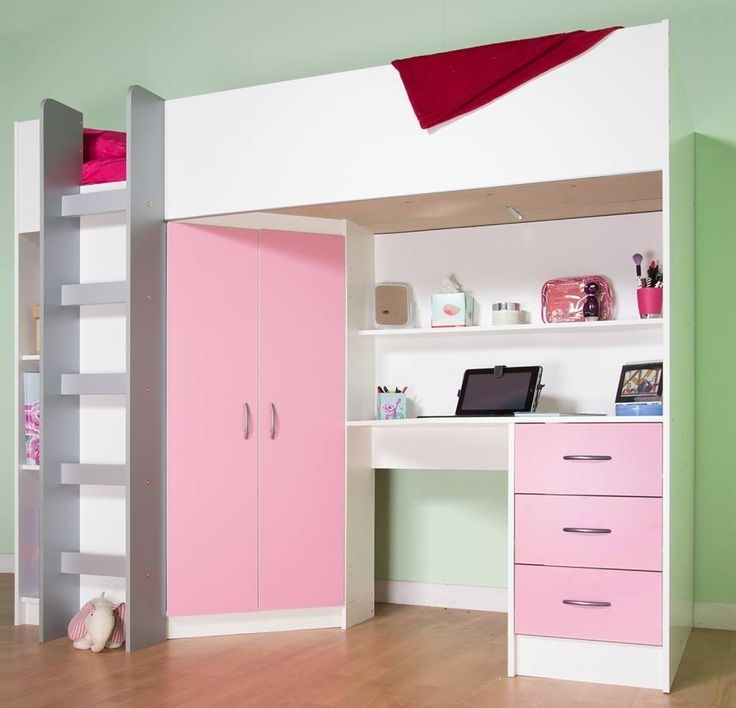 Best 20 Cabin Bed With Wardrobe Ideas On Pinterest Tiny House properly throughout Double Wardrobe With Drawers And Shelves (Image 30 of 30)
