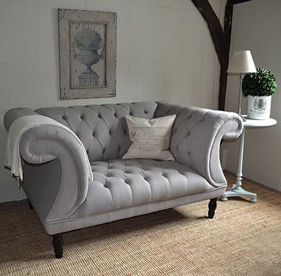 Best 20 Chesterfield Sofas Ideas On Pinterest Chesterfield good with regard to Grey Sofa Chairs (Image 4 of 20)