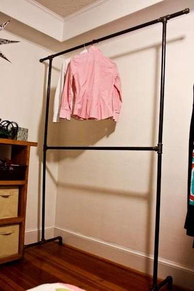 Best 20 Clothes Rack Bedroom Ideas On Pinterest Clothing Racks perfectly inside Tall Double Hanging Rail Wardrobes (Image 30 of 30)