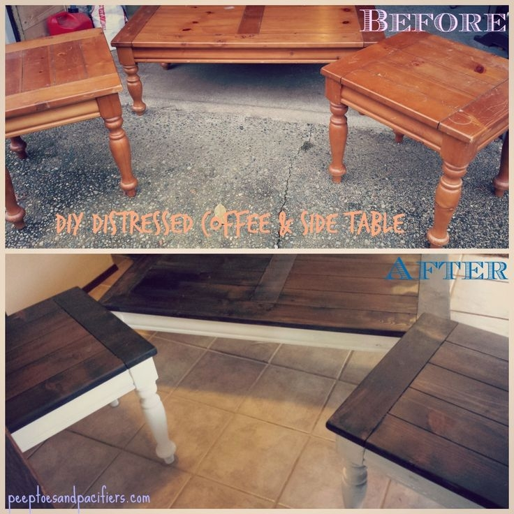 Coffee Table Makeover Ideas Brokeasshomecom