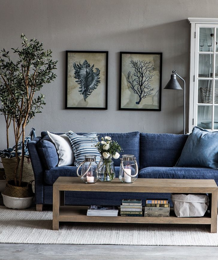 Best 20 Navy Blue Couches Ideas On Pinterest Blue Living Room good with Blue Sofa Chairs (Image 2 of 20)