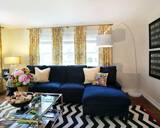Best 20 Navy Blue Couches Ideas On Pinterest Blue Living Room Nicely In Dark Blue Sofas (View 3 of 20)