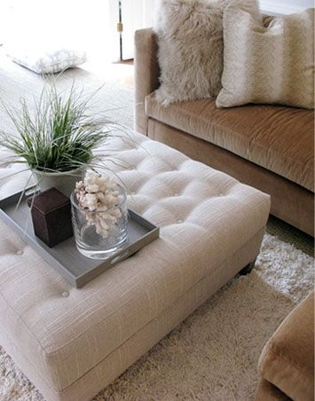 Best 20 Ottoman Coffee Tables Ideas On Pinterest Tufted Ottoman most certainly in Fabric Coffee Tables (Image 1 of 20)