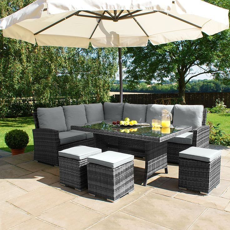 Best 20 Rattan Garden Furniture Ideas On Pinterest Garden Fairy effectively within Outdoor Sofas With Canopy (Image 3 of 20)
