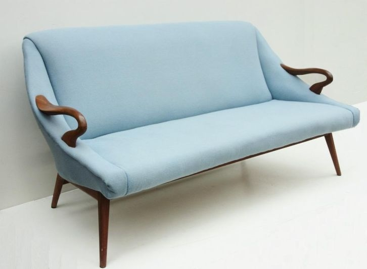 Best 20 Retro Sofa Ideas On Pinterest Retro Home Living Room nicely for Blue Sofa Chairs (Image 3 of 20)