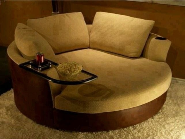 Best 20 Round Sofa Ideas On Pinterest Contemporary Sofa clearly throughout Big Round Sofa Chairs (Image 9 of 20)