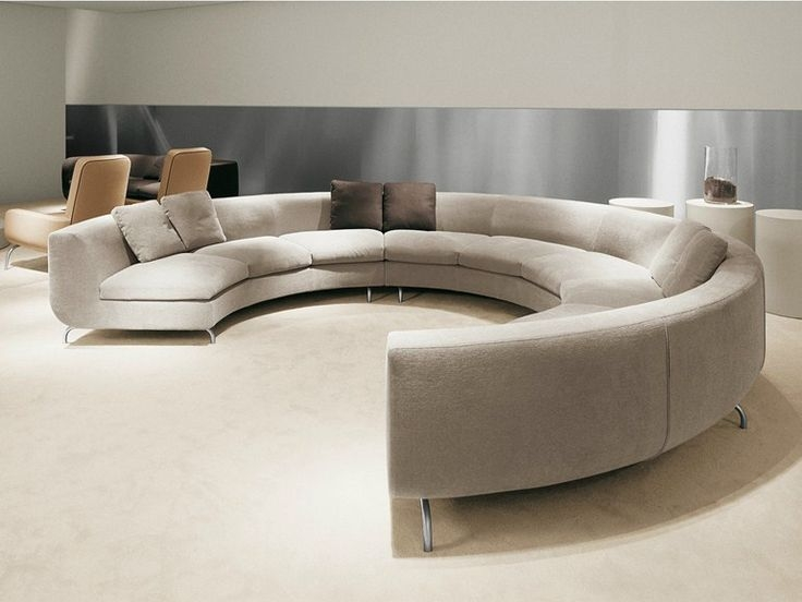 Best 20 Round Sofa Ideas On Pinterest Contemporary Sofa properly pertaining to Circle Sofa Chairs (Image 5 of 20)