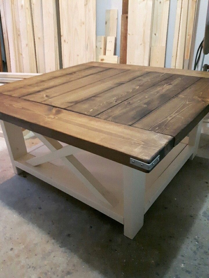 Best 20 Square Coffee Tables Ideas On Pinterest Build A Coffee clearly inside Square Dark Wood Coffee Table (Image 1 of 20)