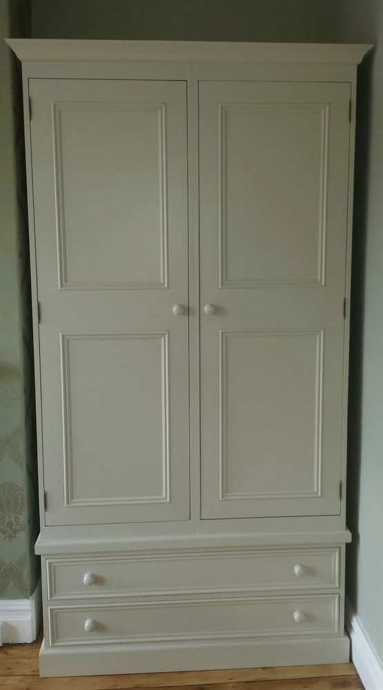 Featured Photo of Pine Wardrobe With Drawers And Shelves
