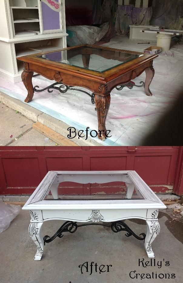 Best 25 Antique Coffee Tables Ideas On Pinterest Upholstered clearly for Vintage Glass Top Coffee Tables (Image 5 of 20)