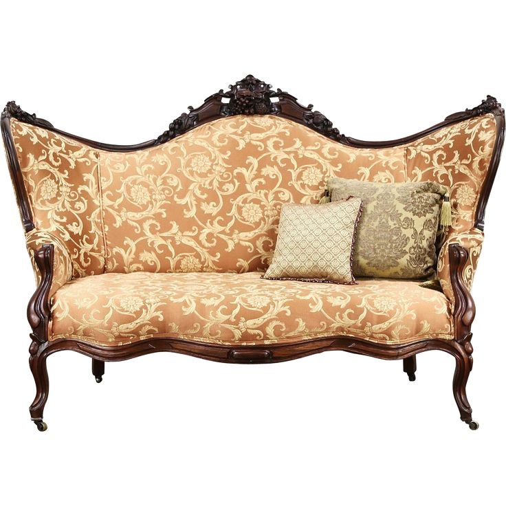 Featured Photo of Antique Sofa Chairs
