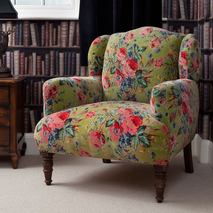 Best 25 Armchairs Ideas On Pinterest Kate La Vie Armchair And most certainly regarding Floral Sofas and Chairs (Image 11 of 20)