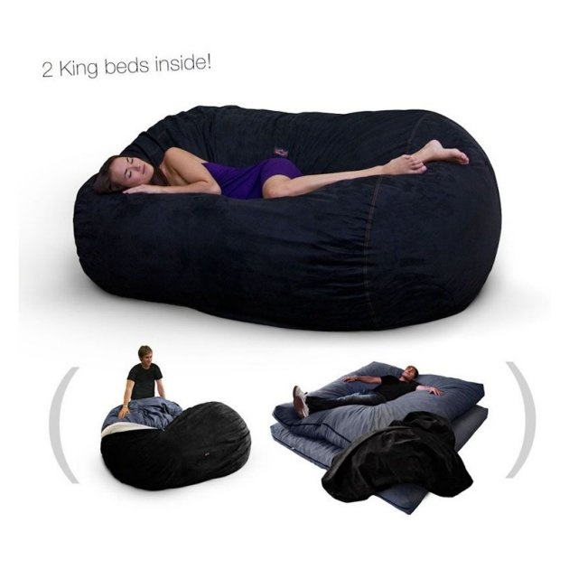 Best 25 Bean Bag Bed Ideas On Pinterest Giant Minion Bean Bag effectively in Bean Bag Sofas And Chairs (Image 7 of 20)