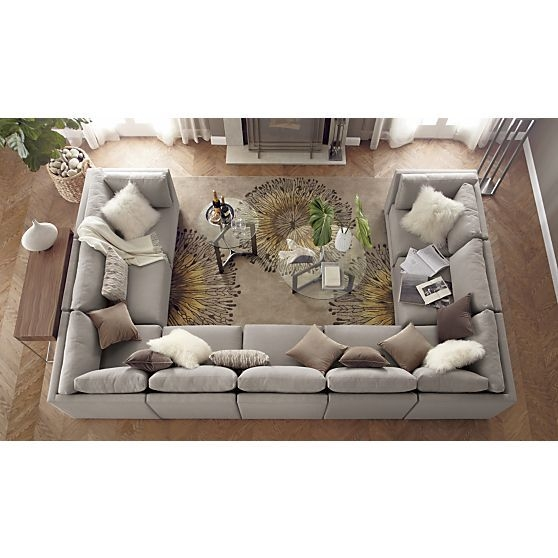 Best 25 Big Couch Ideas Only On Pinterest Black Couch Decor well with Huge Sofas (Image 3 of 20)