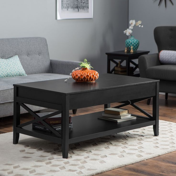 Best 25 Black Coffee Tables Ideas On Pinterest Coffee Table effectively intended for Coffee Table With Matching End Tables (Image 4 of 20)